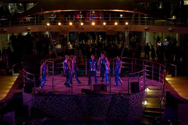 Mein Schiff 1 - Auslaufprogramm - Theater-Ensemble