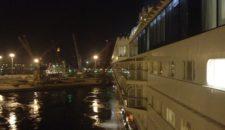 Mein Schiff 1 Auslaufen aus Casablanca aus Kapitäns-Sicht