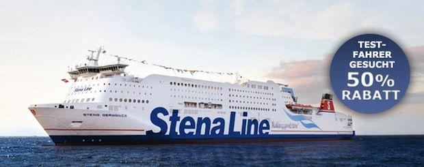 Testfahrer-Aktion - 50% Rabatt / © Stena Line