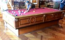Video: Billiard spielen bei starkem Seegang auf Kreuzfahrtschiffen