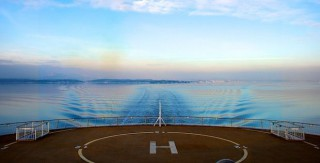 Mit der Color Line Fähre im Oslofjord