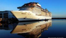 MSC Divina – Das neue Flaggschiff von MSC Kreuzfahrten wird in 100 Tagen am 26.Mai getauft