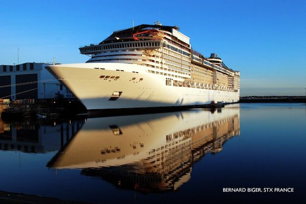 MSC Divina / © STX Europe / Biger