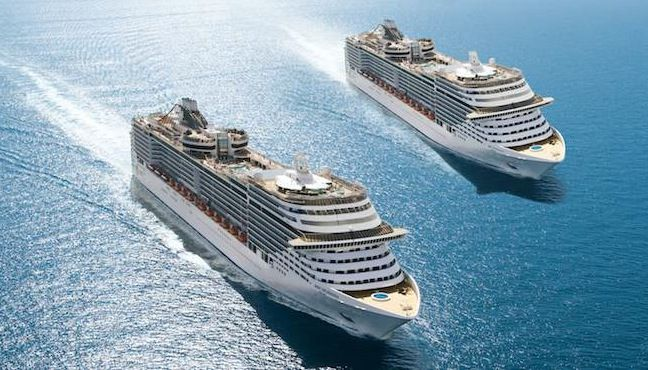 MSC Splendida and MSC Fantasia / © MSC Kreuzfahrten