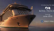 """Kreuzfahrtschiff-Neubau von Princess Cruises in 2014 heisst: """"Regal Princess"""""""