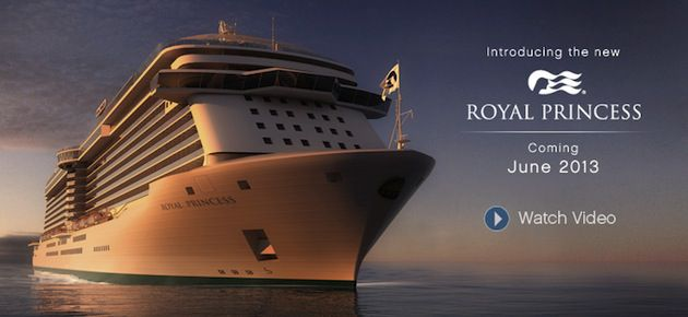 Royal Princess kommt im Juni 2013 / © Princess Cruises