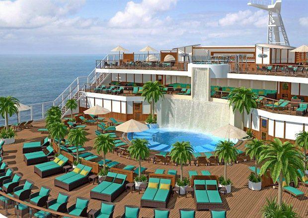 Carnival Sunshine - Serenity Bereich / © Carnival Cruise Line