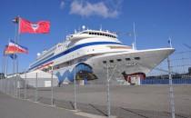 Seehafen Kiel beendet mit AIDAcara vorläufig die Saison 2013