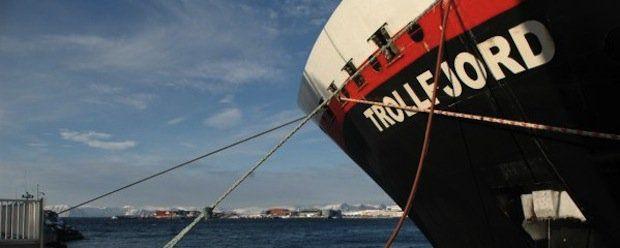 MS Trollfjord / © Harald Manger