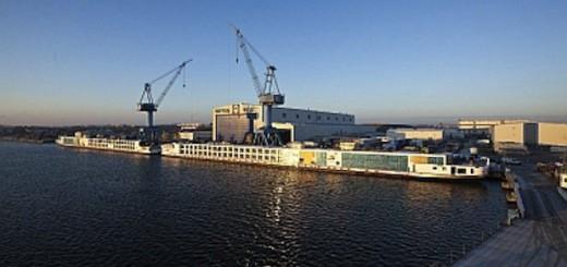 Viking Schiffe am Kai / © Neptun Werft