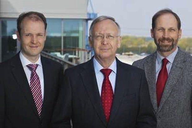 Geschaeftsfuehrung Meyer Werft - Dr. Jan Meyer, Bernard Meyer, Labert Kruse