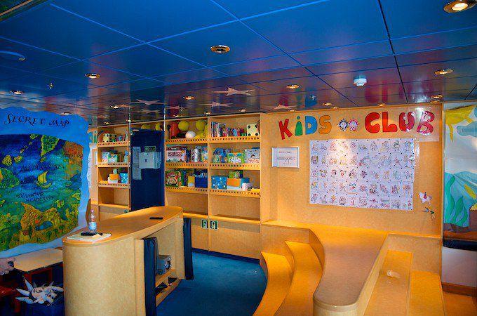 MSC Lirica Kidsclub