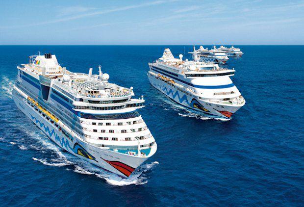 AIDA Flotte / © AIDA Cruises