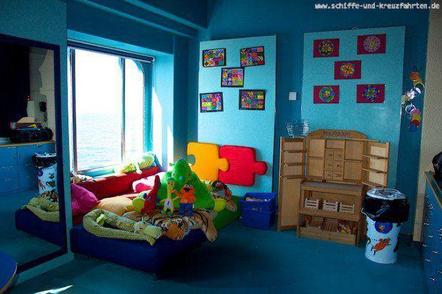 AIDAcara Kidsclub: Ein Paradies für Kleinkinder