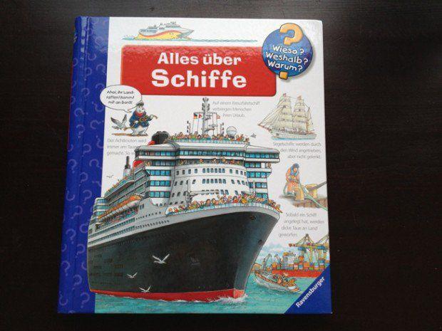 """Buchempfehlung für KreuzfahrtKids: Ravensburger """"Alles über Schiffe"""""""