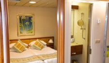 Kabinen auf MS Artania: Außen-, Balkonkabinen & Suiten
