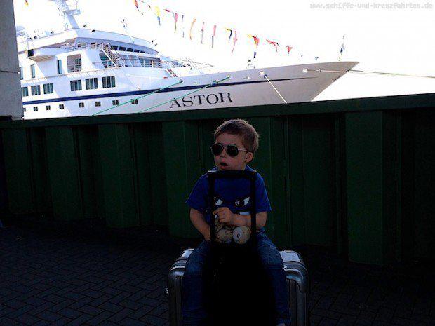 Reisebericht: MS Astor mit Kind – Tag 3 – Good bye in Bremerhaven, mein Fazit!