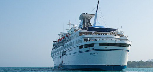 MS Delphin - Gythion auf Reede