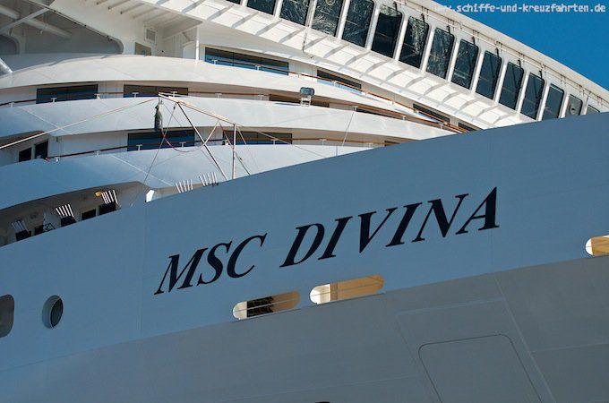 Schon wieder! Sechs Päckchen Kokain an Bord der MSC Divina gefunden