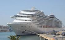 Zwei riesige neue Kreuzfahrtschiffe für MSC Kreuzfahrten von STX France