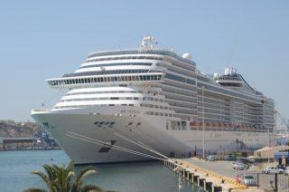 MSC Fantasia in Malta