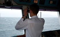 MS Artania: Kommandobrücke mit Kapitän Jens Thorn