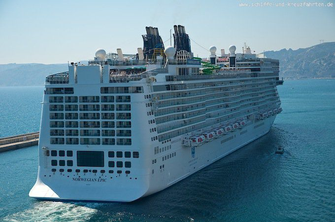 Norwegian Epic in Marseille