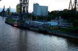 AIDAcara im NOK - Schiffsbegruessungsanlage