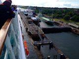 AIDAcara im Nord-Ostsee-Kanal - von Bord_ 2
