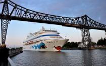 Kieler Kreuzfahrtsaison wird morgen durch AIDAcara eingeläutet