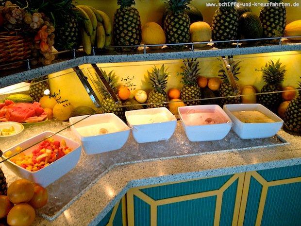Calypso-Restaurant auf AIDAcara - Fruehstueck