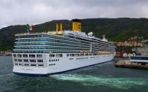 Costa Luminosa startet heute ihre 108-Tage Weltreise 2016