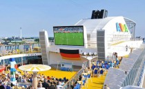 AIDA Cruises: Fussball Europameisterschaft auf den Clubschiffen