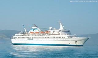 MS Delphin - Nauplia auf Reede