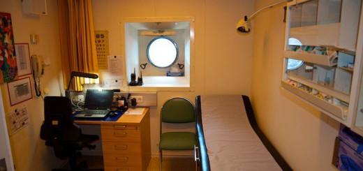 AIDA Bordhospital - der Arbeitsplatz des falschen Schiffsarzt