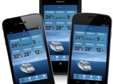 AIDA Mobile Apps / © AIDA Cruises