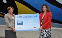 AIDA Cruises spendet 100.000 Euro an SOS-Kinderdorf e.v