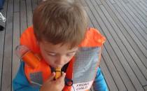 Reisebericht MS Astor: Seenotrettungsübung mit Kindern