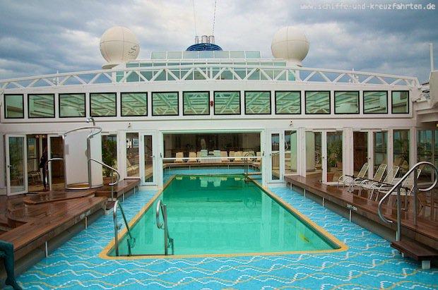 MS Europa Bilder von Bord