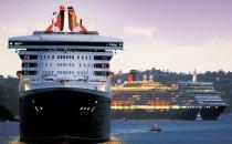 Queen Elizabeth: Flottenreffen der Queens in Southampton und Hafengeburtstag in Hamburg