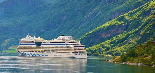AIDAmar Geirangerfjord