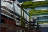 AIDAstella im Baudock der Meyer Werft 11