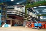 AIDAstella im Baudock der Meyer Werft  2