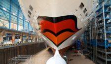 Bilder: AIDAstella im Baudock der Meyer Werft