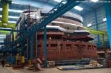 AIDAstella im Baudock der Meyer Werft 9