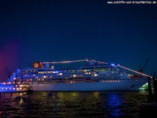 Auslaufparade Hamburg Cruise Days
