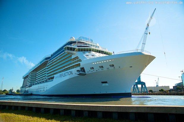 Celebrity Reflection - Ausdocken Meyer Werft - Floating out - 1 10