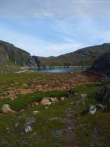 Kleiner Fjord in Paamiut