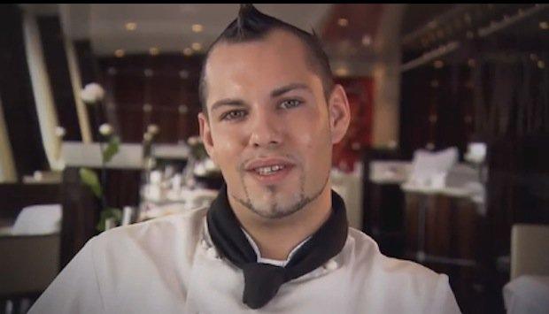 Manuel Miller - Sous Chef / © AIDA Cruises