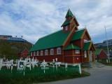 Paamiut Kirche & Friedhof